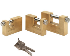 Padlocks Rectangul;ar Brass